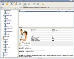 DVD catalog manager screenshot